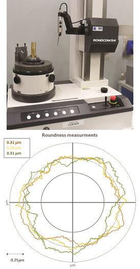 Máquina de medição de circularidade Rondcom