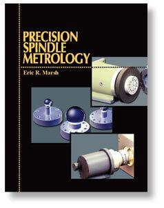 Couverture de livre de métrologie de broche de précision
