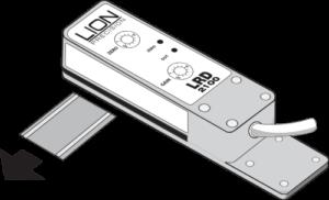 Regolazione dell'LRD2100 Passaggio 1