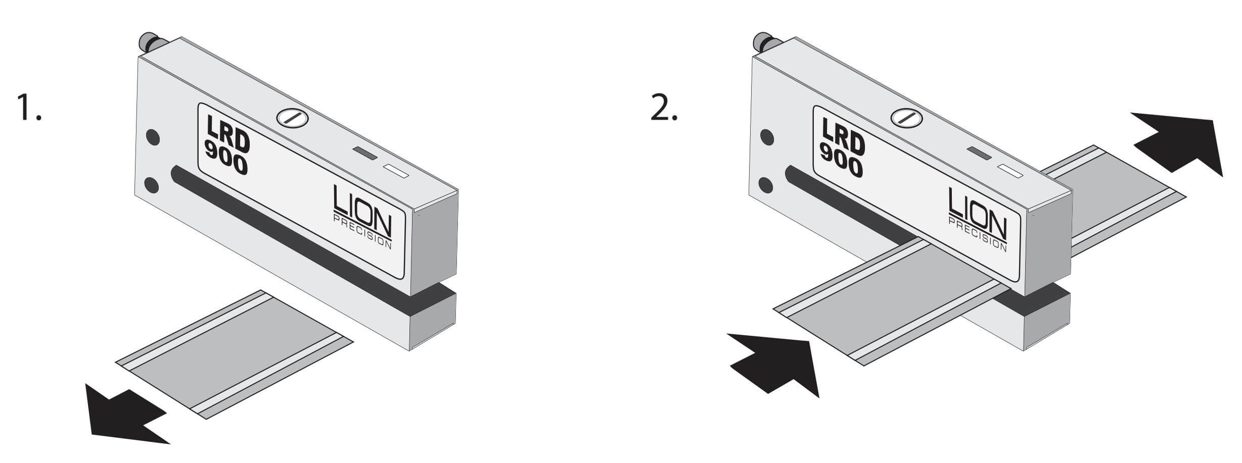 LRD900 Schritt 1