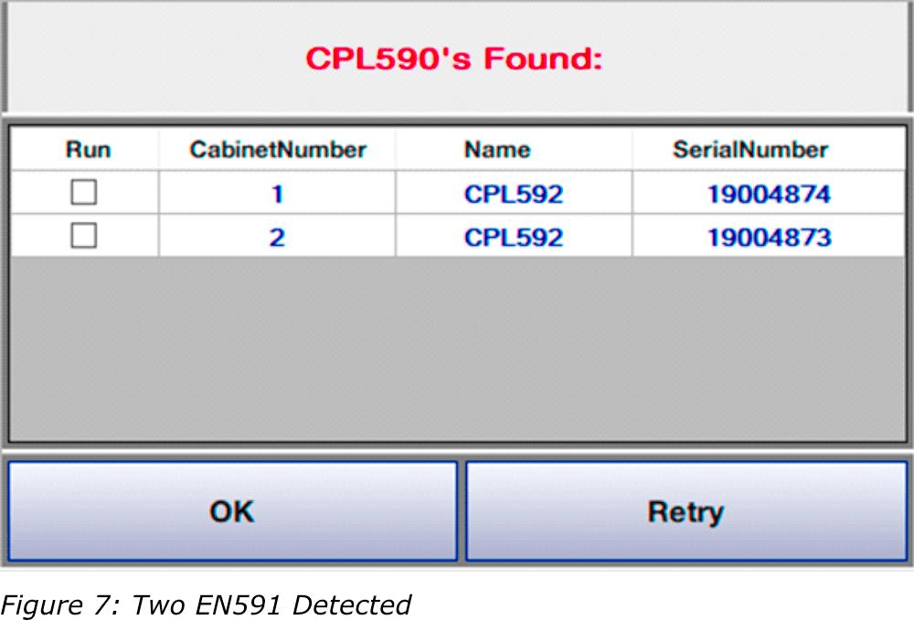 CPL590的发现屏幕