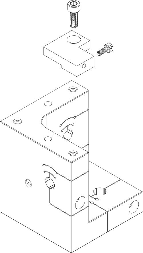 附录C:索引传感器支架组件
