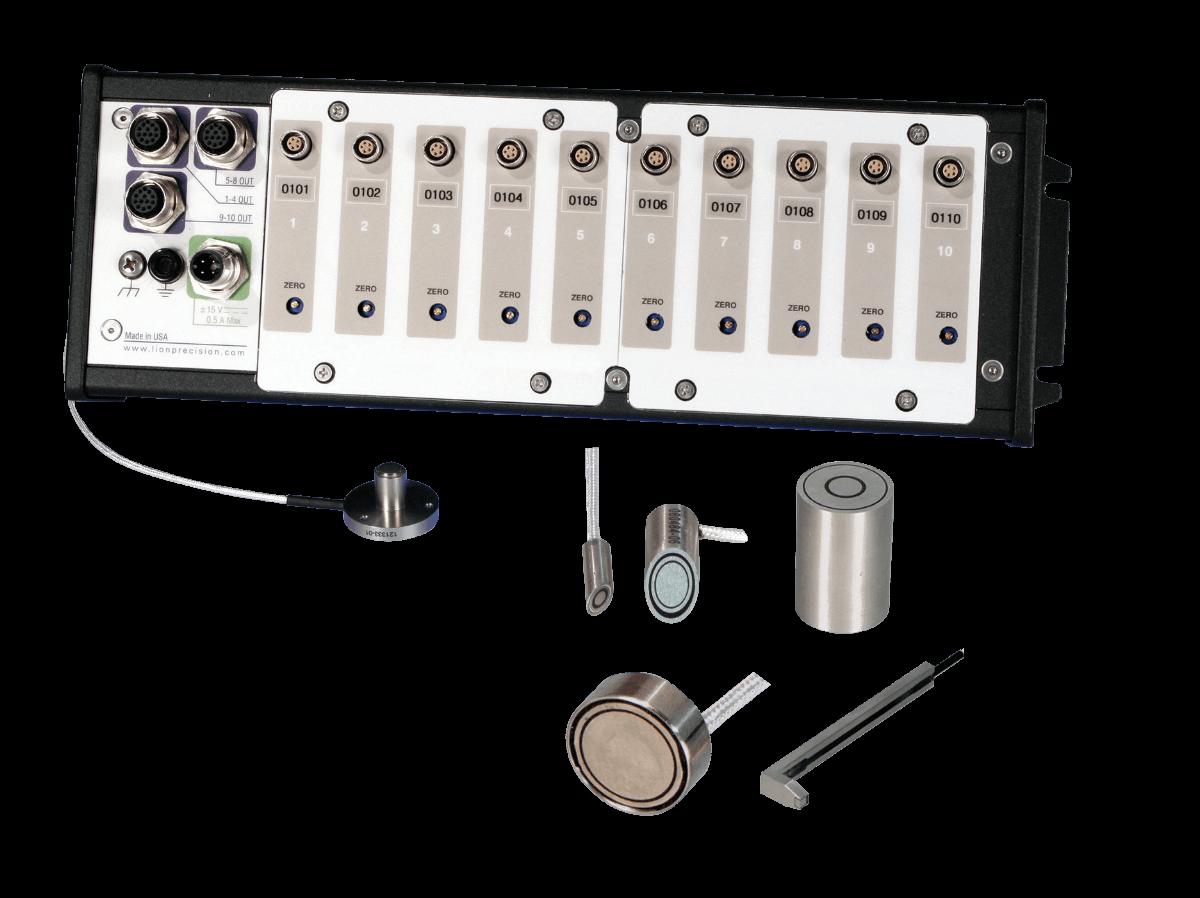 Driver de sensor capacitivo e sondas