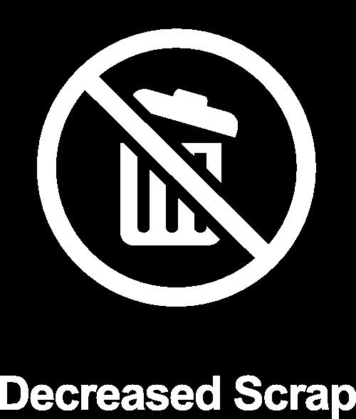 Decreased Scrap Icon