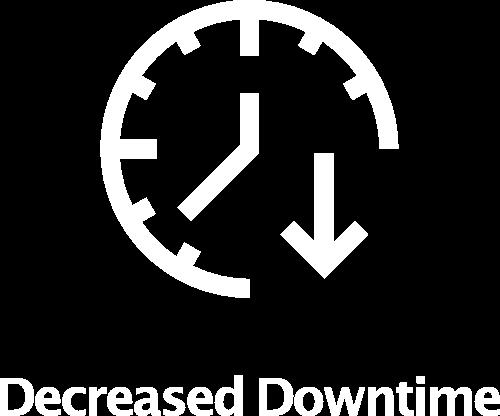 Decreased Downtime Icon