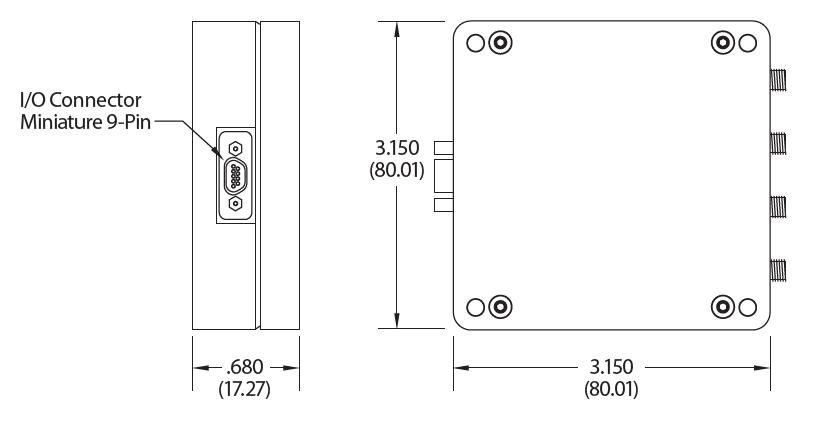 EDA400の寸法